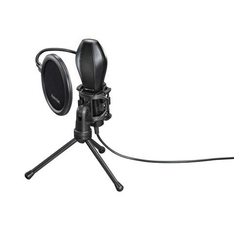 HAMA USB Stream-mikrofoni PC- ja Notebook USB -laitteille