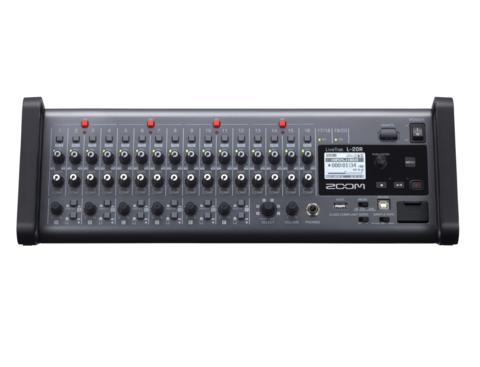 Zoom Livetrak L20R - Mikseri, Tallennin, Äänikortti