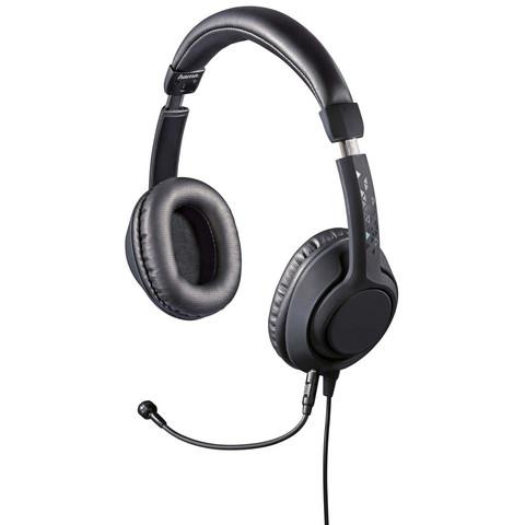 HAMA PC Headset Black Desire Mic, Black
