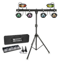 Cameo MULTI FX BAR EZ + Gravity SP 5522 B Stand