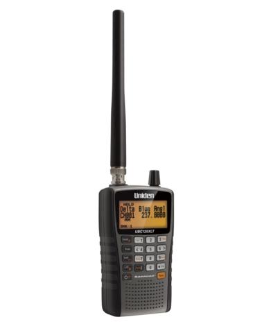 Uniden UBC125XLT Scanner, Portable