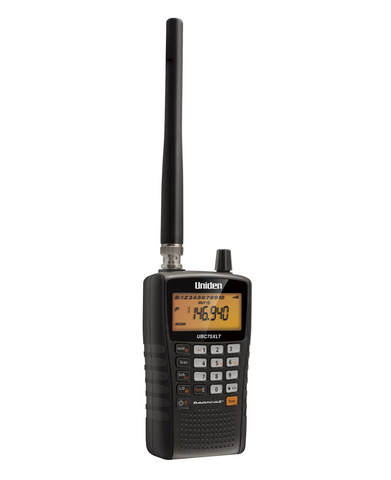 Uniden UBC75XLT Scanner, Portable
