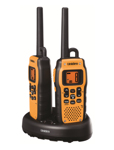 Uniden PMR446SWPF-2CK, IPX7 Transceivers PMR446 Portable, TWIN SET