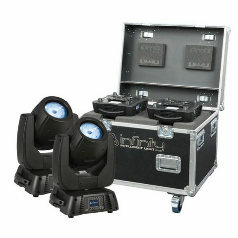Infinity iB-2R Set, 2pcs with Premium Flightcase
