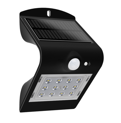 Brightsolar LED Aurinkokennovalaisin Liiketunnistimella