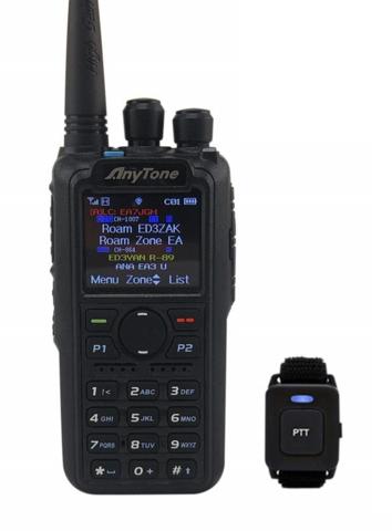 Anytone AT-D878UV PLUS Bluetooth, DMR Handheld Transceicer