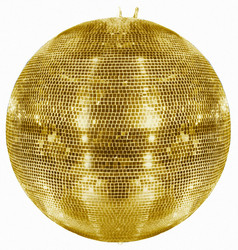 EUROLITE Mirror Ball 100cm Gold
