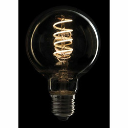Showtec LED Filament Bulb E27, 5W, Dimmable, Gold glass cover