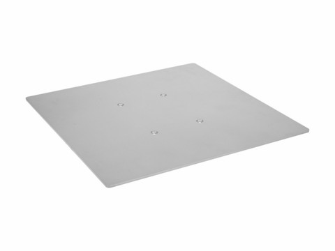 ALUTRUSS DECOTRUSS Quad Base Plate 500 sil/bk