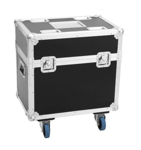 ROADINGER Flightcase 2x LED TMH-75