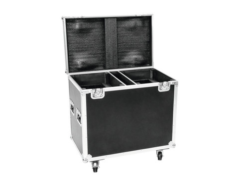 ROADINGER Flightcase 2x TMH-S200