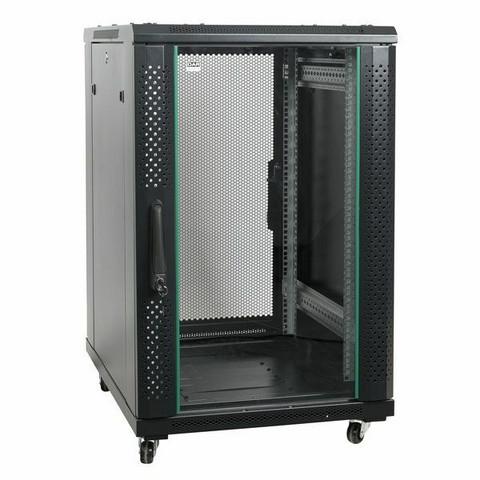 Showtec RCA-FSM Network Cabinet, Mesh Door