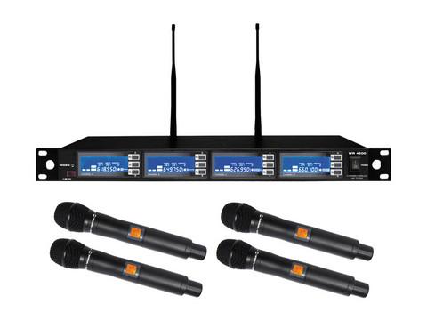 WorkPro WR 4200/1 Professional Diversity 4-channel Wireless System