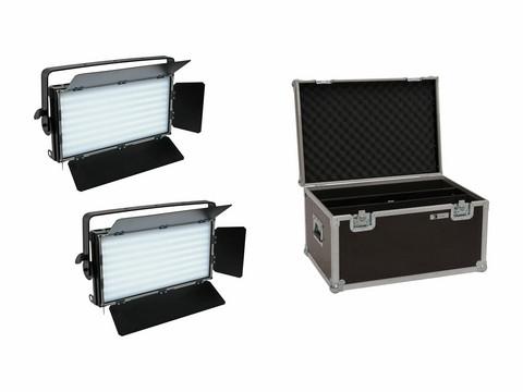 EUROLITE Set 2x LED PLL-480 CW/WW Panel + Case