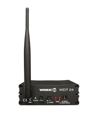 WorkPro WDT 24 Wireless Digital Audio Transmitter