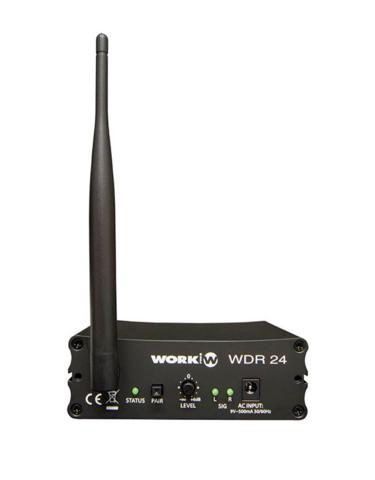 WorkPro WDR 24 Wireless Digital Audio Receiver