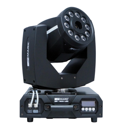 MARK 1600 LED Moving Head with Fog Machine