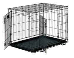 Koiran Näyttelyhäkki S, 2-ovinen 60x43x50cm