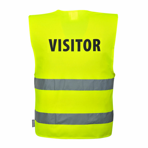 PORTWEST Vierailijan VISITOR-turvaliivi