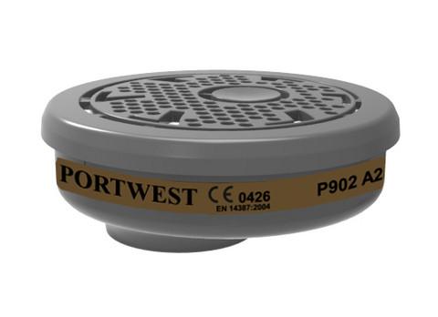 PORTWEST A2 Kaasusuodatin Pikaliittimellä (6kpl laatikossa)