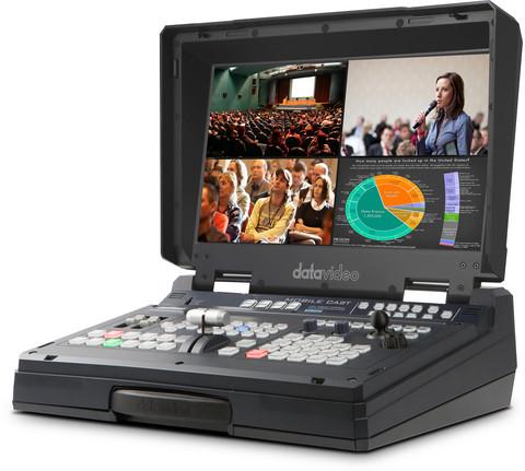 Datavideo HS-1600T MKII HDBaseT Portable Video Streaming Studio