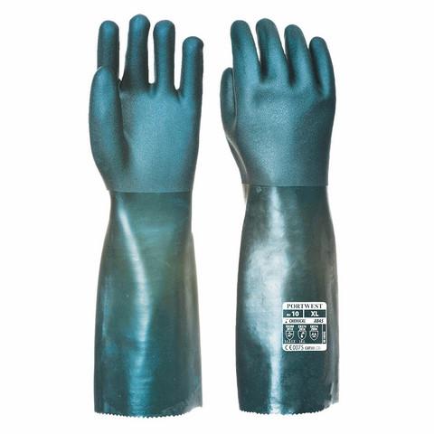 PORTWEST Kaksoispinnoitettu PVC-suojakäsine 45cm