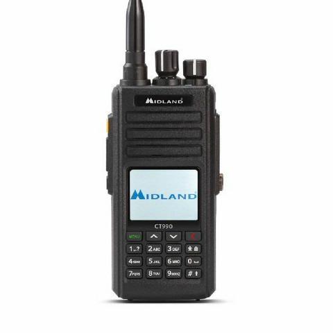 Midland CT990-EB Transceiver VHF/UHF Portable