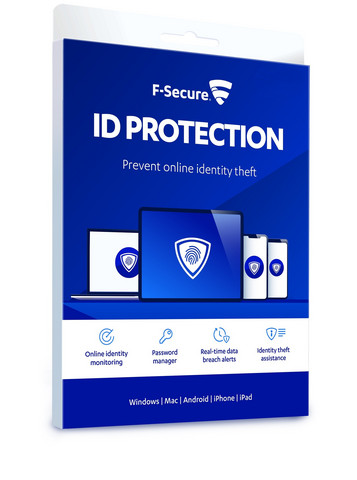 F-Secure ID PROTECTION (1 Year 10 Devises), E-KEY