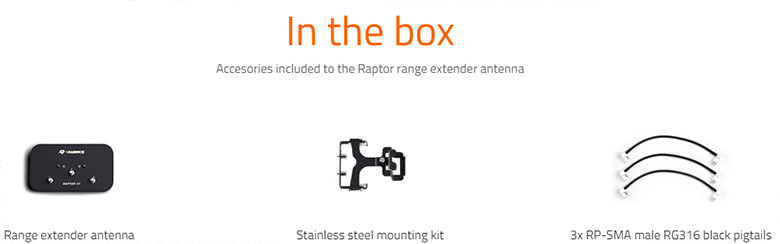 4Hawks Raptor SR - In The Box