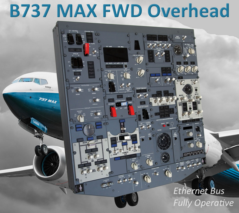 B737MAX - FWD Overhead Ethernet