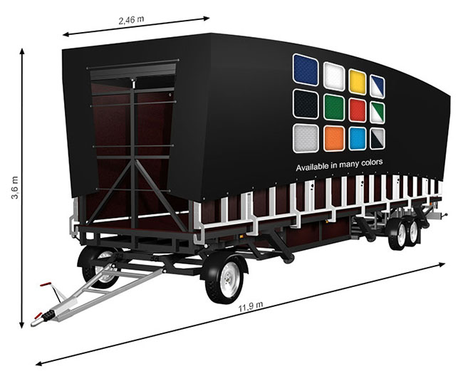 ALSPAW Profiled L60 Mobile Stage