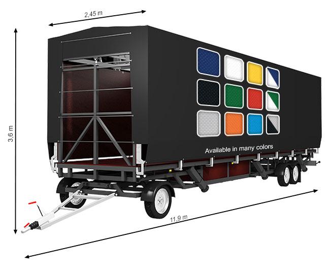 ALSPAW Standard XL80 Mobile Stage
