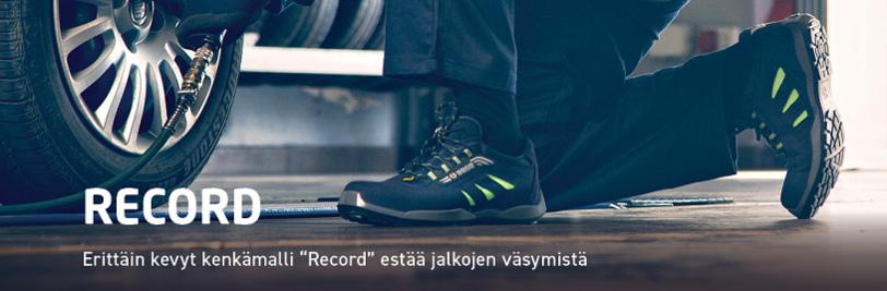 BASE Record Turvakengät