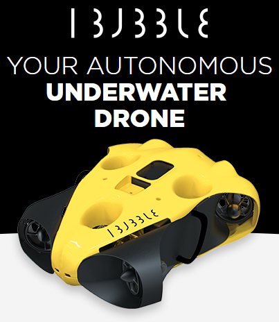 iBubble - The First Autonomous Diving Drone