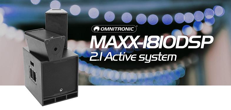 Omnitronic MAXX-1810DSP