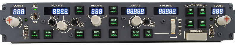 MCP Module Ethernet for the Boeing 737NG & 737MAX Simulators