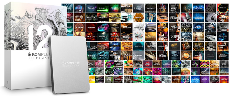 Native Instruments Komplete 12 Collectors Edition