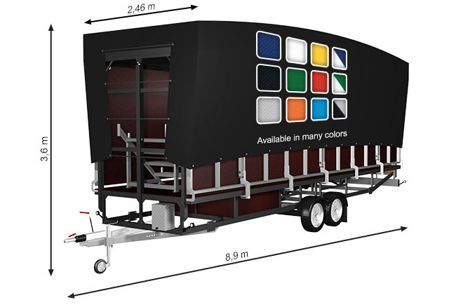 ALSPAW Profiled M45 Mobile Stage