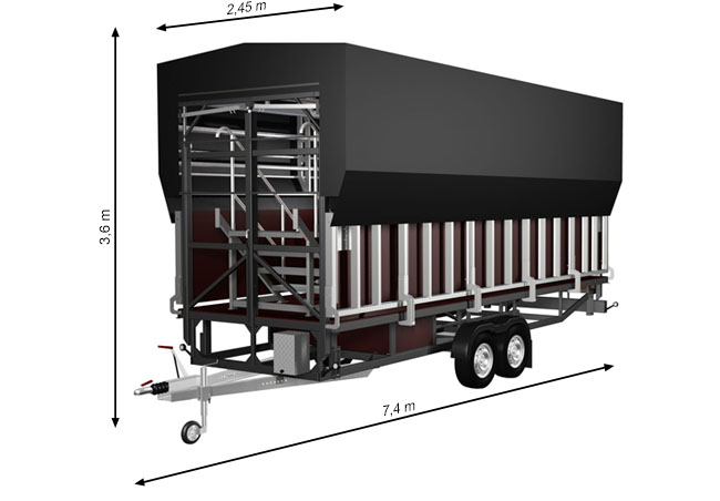ALSPAW Standard S24 Mobile Stage