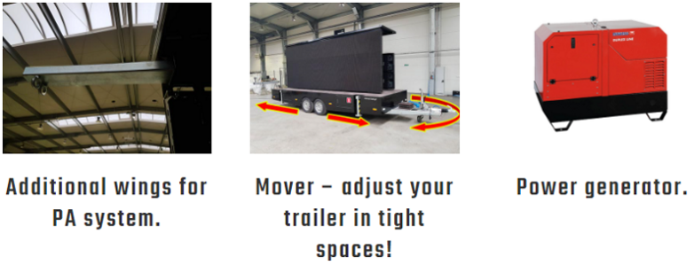 SimpLED - Mobile LED Screen Options