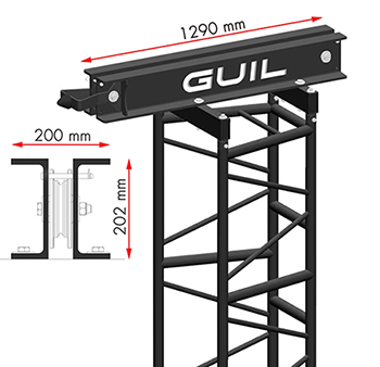 GUIL TMD-570 Top Section