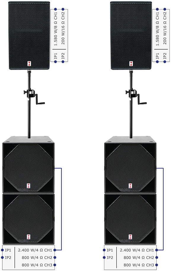 Voice-Acoustic SubSat-15sp Set