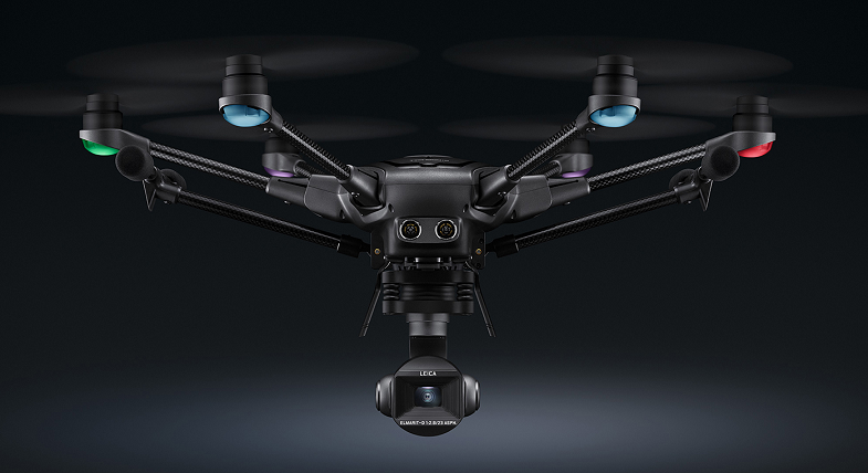 Yuneec Typhoon H3 co-engineered with Leica
