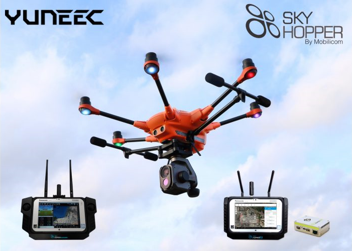 Yuneec and Mobilicom form Strategic Partnership for the Commercial & Federal Drone Market