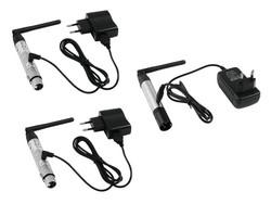EUROLITE Set QuickDMX 1x transmitter + 2x receiver