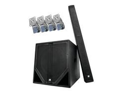 OMNITRONIC Set ASS-1503 + Castor set