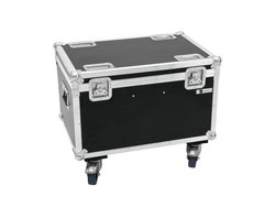 ROADINGER Flightcase 4x LED MFX-3 Action Cube