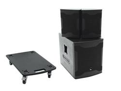 OMNITRONIC Set AS-500 + Wheel board