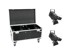 EUROLITE Set 2x LED THA-250F + Case