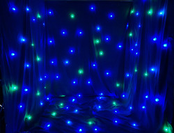 FOS Led Star Curtain, 6x4m